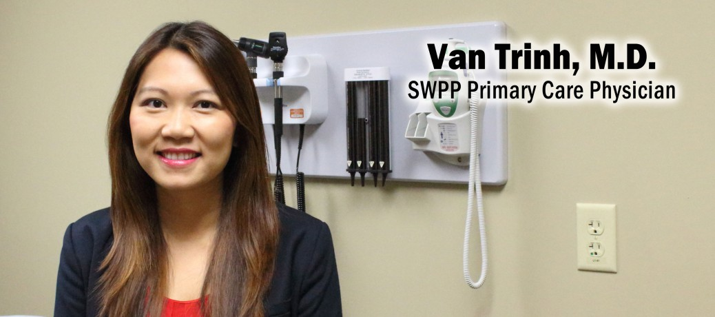 SWMC welcomes Dr. Trinh to SWPP Clinic