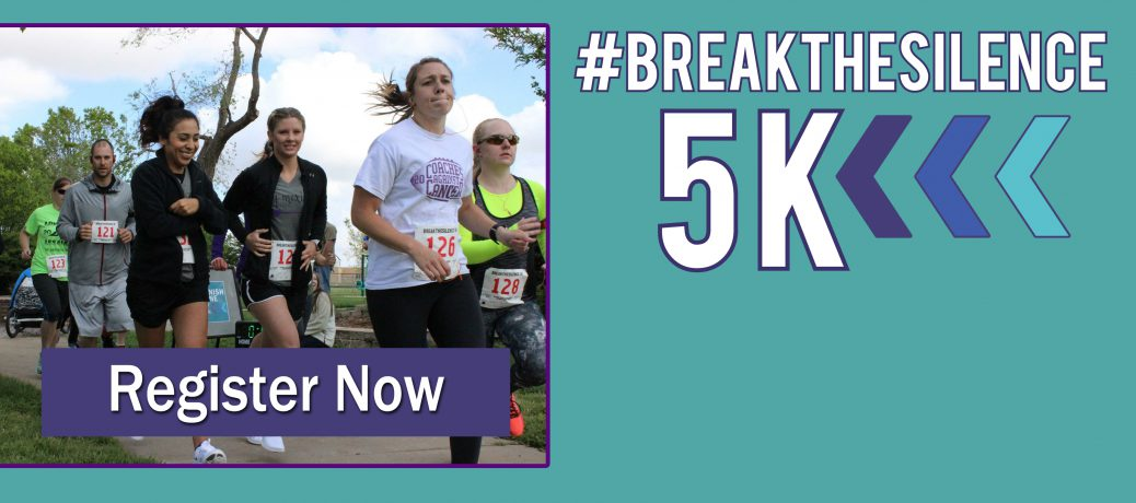 April 7: #breakthesilence 5K Walk & Run